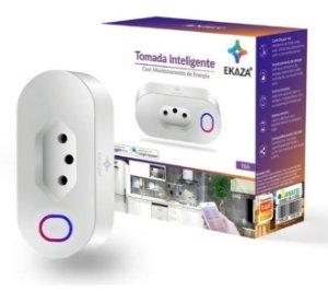 Tomada Inteligente Ekaza 16a Smart Home Alexa/google
