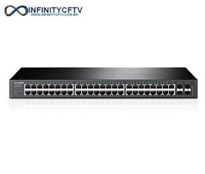 Switch 48 Portas 10/100/1000 E 4 Sfp T1600g-52ts (tl-sg2452)