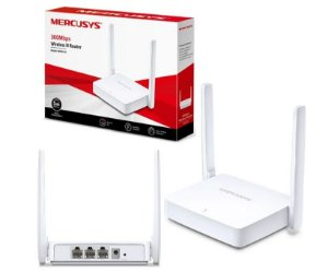 Roteador Tp Link Mercusys Mw301r 300mbps 2 Antenas Rede Wifi