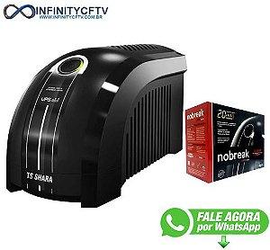 NOBREAK UPS MINI 500VA – BIVOLT 115V / 220V - Infinitycftv Santa Ifigênia - 454