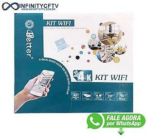 Kit Wifi 4 Camêras Ip Interna Ou Externa Better- Infinitycftv Santa Efigênia