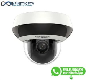 Câmera Hikvision Speed Dome IP PTZ Full HD DS 2DE2A204W DE3 DarkFighter 1080p INFINITYCFTV