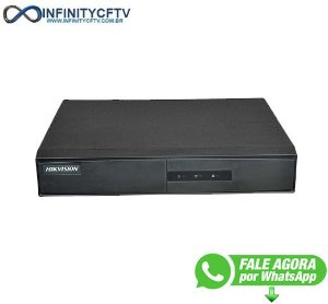 Dvr Hikvision Turbo Hd 16 Canais Ds-7216hghi-f1 - Infinitycftv