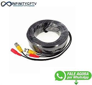 Cabos Pronto Para Cftv 20 Metros C./ Conectores Infinitycftv Santa ifgeniaCp2f1 2DE2A204W