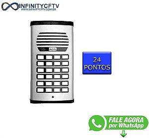 Porteiro Coletivo Agl P/ 24 Pontos - Com Fonte-Infinity Cftv