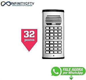 Porteiro Coletivo P/ 32pontos Agl - Com Fonte-Infinity Cftv