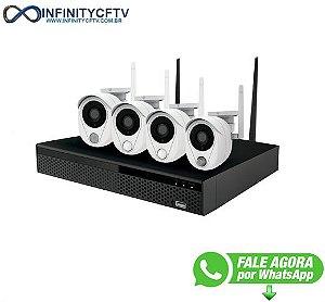 Kit 4 Câmeras NVR Wifi LKK-3214 - Infinitycftv Santa Efigenia