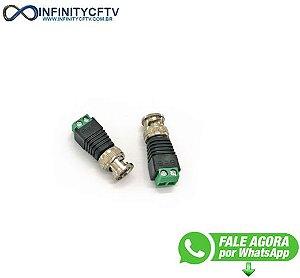 Conector Bnc Macho Com Borne LKP-203-Infinity Cftv