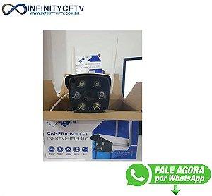 Câmera Ip Wifi Externa 2 Antenas Fullhd Acesso Remoto LKW-3420-Infinity Crtv