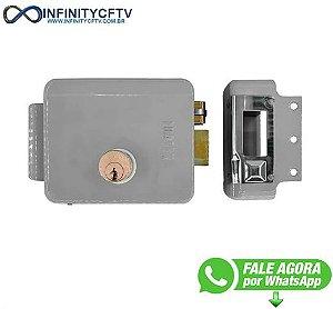 Fechadura Eletrica 12v Abertura - Lfe-110-Infinity Cftv