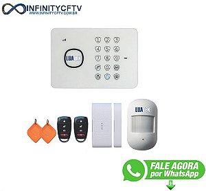 Alarme residencial GSM com bateiria smart LKA-2110-Infinity Cftv