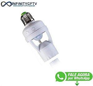 Sensor de Presença para Iluminacao E27 6M LKS-01-Infinity Cftv