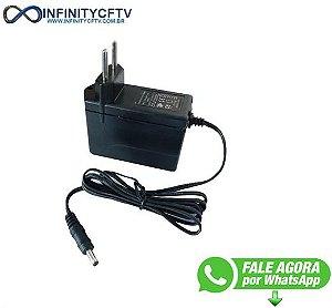 FONTE DE ALIMENTACAO 5V 1A BIVOLT P4 LKF-105-Infinity Cftv