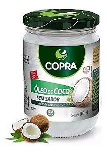 ÓLEO DE COCO SEM SABOR 500ML -COPRA