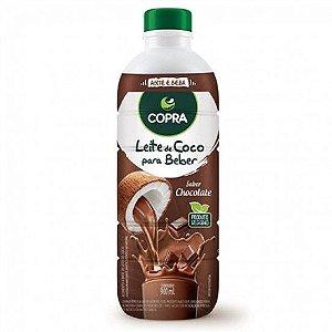 LEITE DE COCO SABOR CHOCOLATE 900ML - COPRA