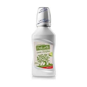 Enxaguante Bucal Natural com ingredientes orgânicos e naturais 250mL.