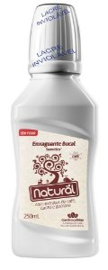 Enxaguante bucal com extratos de Café, Cacau e Guaraná 250ml