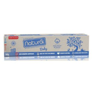 GEL DENTAL BABY NATURAL 50G - SUAVETEX