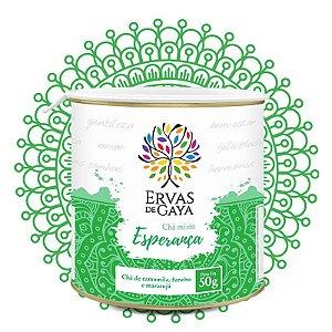 Chá Esperança ervas de gaya