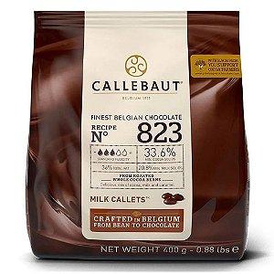 Chocolate Belga Ao Leite 823 (33,6% Cacau) - Gotas 400 GR