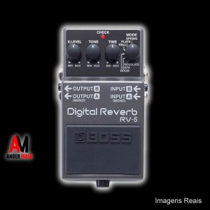 PEDAL BOSS RV5 DIGITAL REVERB SEMINOVO