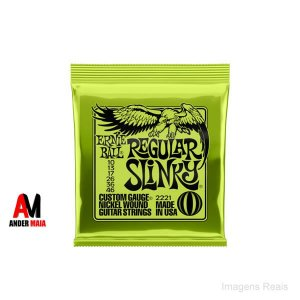 ENCORDOAMENTO ERNIE BALL REGULAR SLINKY 010 046