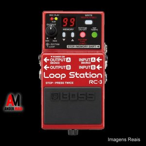 PEDAL BOSS RC3 LOOP STATION USADO