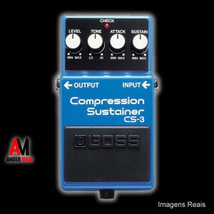 PEDAL BOSS COMPRESSION SUSTAINER CS-3 SEMINOVO
