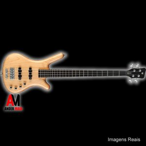 BAIXO WARWICK ROCK BASS CORVETTE 4C HONEY SEMINOVO