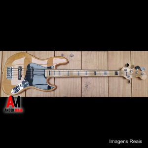 CONTRABAIXO SQUIER JAZZ BASS MODIFIED 5 CORDAS INDONESIA USADO