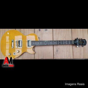 GUITARRA EPIPHONE LESPAUL SLASH AFD SIGNATURE SEMINOVA