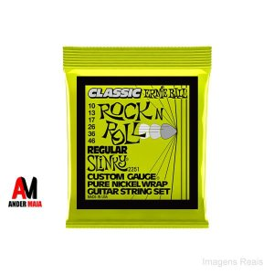 ENCORDOAMENTO GUITARRA ERNIE BALL 010 CLASSIC ROCK AND ROLL