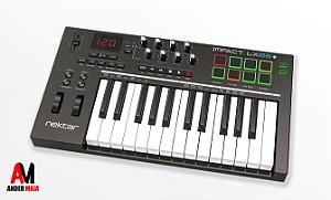 TECLADO CONTROLADOR MIDI NEKTAR IMPACT LX 25 +