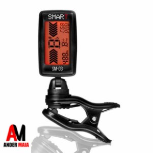 AFINADOR DIGITAL SMART SM03 CLIP PRETO