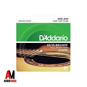 ENCORDOAMENTO DADDARIO 85/15 BRONZE 0.009 PARA VIOLÃO