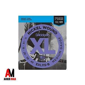 ENCORDOAMENTO DADDARIO P/ GUITARRA 0.011 EXL115-B NICKEL WOUND