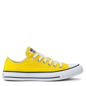 Tênis Converse Chuck Taylor All Star Seasonal Ox Amarelo Preto CT04200052