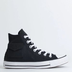 TÊNIS CONVERSE CHUCK TAYLOR ALL STAR POCKET HI PRETO CT13120001