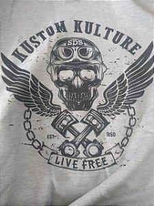 MOLETOM SDS LIVE FREE CINZA 212301