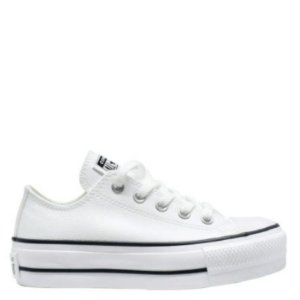 Tênis Converse Chuck Taylor All Star Platform Lift OX Branco Preto CT09830001