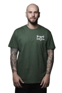 CAMISETA SDS MOTORCYCLE VERDE 171107MV