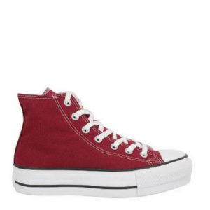 Tênis Converse Chuck Taylor All Star Plataform Lift HI Bordo Preto CT12000010