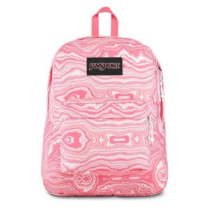 Mochila JanSport Black Label SUperbreak - Pink Geode Load TWK85S4