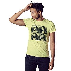 Camiseta Mona Lisa Debochada - Masculina