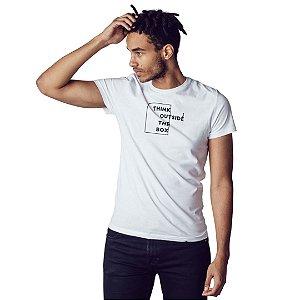 Camiseta Think Outside The Box - Masculina