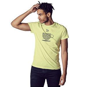 Camiseta Xícara da Positividade - Masculina