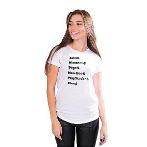 T-Shirt Gerações de Gamers - Feminina