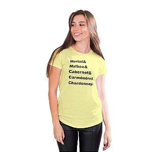 T-Shirt Mestre dos Vinhos - Feminina