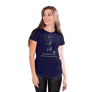 T-Shirt Ease Joy Glory - Feminina