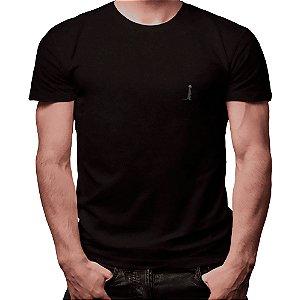 Camiseta Básica Preta - Masculina